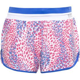 GORE RUNNING WEAR SUNLIGHT PRINT - Pantalones cortos running Mujer - rojo/azul
